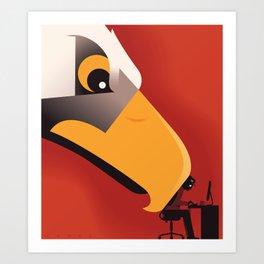 Surveillance State Art Print