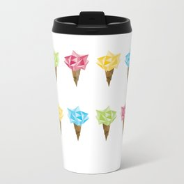 Ice Cream/Different Colors Metal Travel Mug