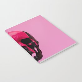 Pink Dripping Skull Notebook