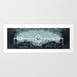 Ancient Brothers Art Print