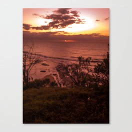 Sunrise Sunshine Coast - Australia Canvas Print