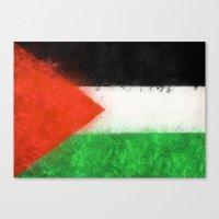 palestine Canvas Prints featuring Palestine by 2b2dornot2b