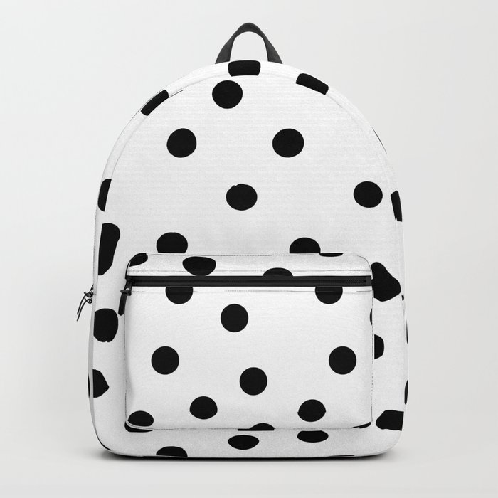 Simply Dots in Midnight Black Backpack