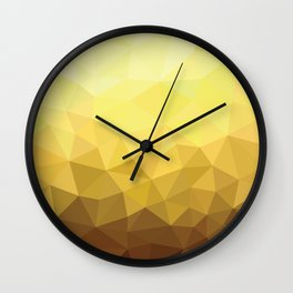 Golden Luxury Wall Clock