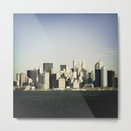 Lower Manhattan Metal Print