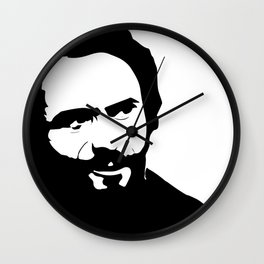 Ted the Lady Killer - Version 2 Wall Clock