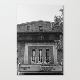 Old Brooklyn Cinema Canvas Print