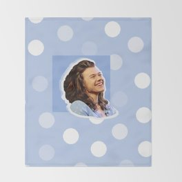 Harry Styles Polka Dot Throw Blanket