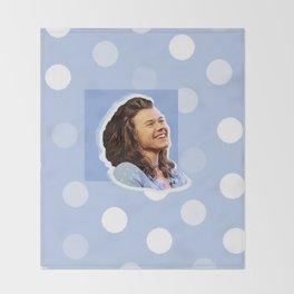 Harry Styles Polka Dot Throw Blanket