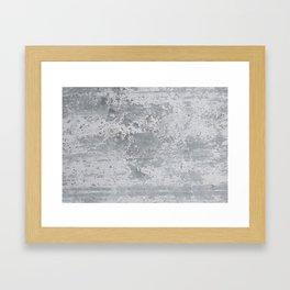 Concrete Stone Design Pattern Framed Art Print