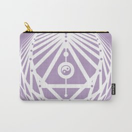 Radiant Abundance (lavender-white) Carry-All Pouch