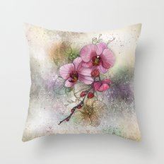 tiny, perfect beauty Throw Pillow