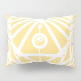 Radiant Abundance (light yellow-white) Pillow Sham