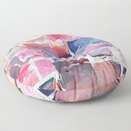 482 = Abstract Collection Floor Pillow
