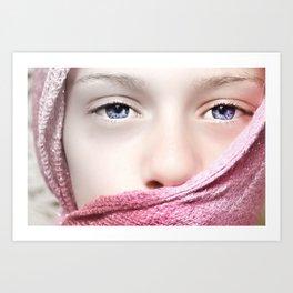 Stifled Beauty  Art Print