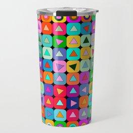 Op Art (LOVE) Travel Mug