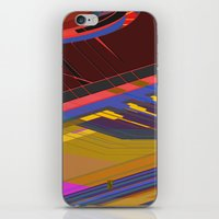 data iPhone & iPod Skins featuring Data Path by dBranes