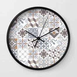 Azulejos Lisbon Portugal Wall Clock