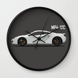 The MP4 Supercar Wall Clock
