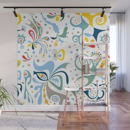 Real Deal white Wall Mural