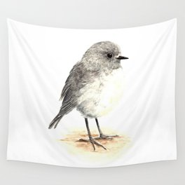 Toutouwai / South Island Robin - a native New Zealand bird 2013 Wall Tapestry