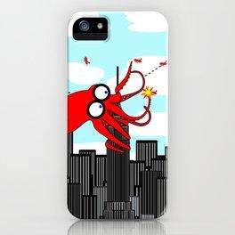 King Kraken Battles over New York iPhone Case