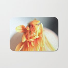 Orange Bloom III Bath Mat