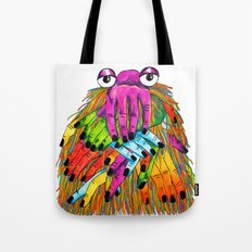 Imaginary Friend Monster Tote Bag