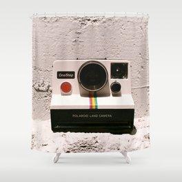 OneStep Land Camera, 1977 Shower Curtain