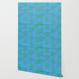 Cerulean Petal Rose Wallpaper