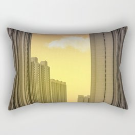 Beijing in colour Rectangular Pillow