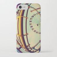 santa monica iPhone & iPod Cases featuring Santa Monica by Nikole Lynn Photography