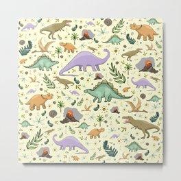 Dinosaurs! Metal Print