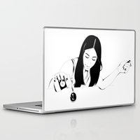 drink Laptop & iPad Skins featuring Dangerous Drink by Renan Lacerda