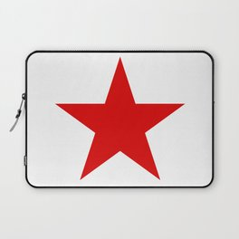 Red Star Art Print Laptop Sleeve
