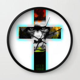 Crossed Ape Wall Clock