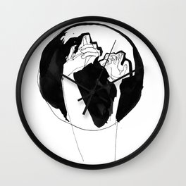 moonlight hands Wall Clock