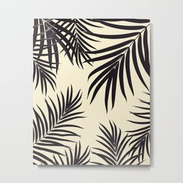 Palm Leaves Pattern Summer Vibes #8 #tropical #decor #art #society6 Metal Print