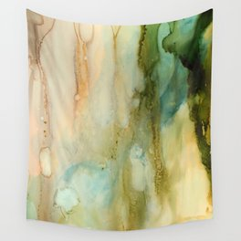 Rainy Window Wall Tapestry