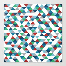 Triangles #3 Canvas Print