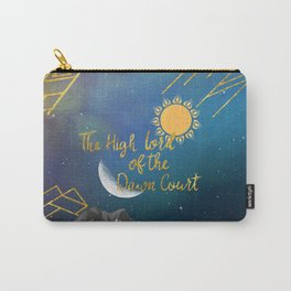 The High Lord of the Dawn Court Carry-All Pouch