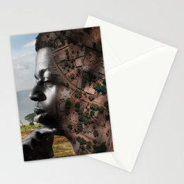 African territories Stationery Cards