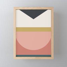 Maximalist Geometric 03 Framed Mini Art Print