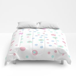 candy dots Comforters