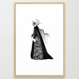 The Norse Goddess Snotra Framed Art Print