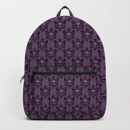 Halloween Damask Violet Backpack