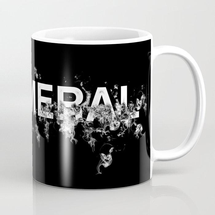 """Word """"Ephemeral"""" in a minimal design Coffee Mug"""