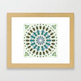 Entomology art Framed Art Print