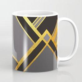 Art Deco New Tomorrow In Grey Coffee Mug