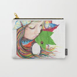 If Mother Earth Was a Child... Carry-All Pouch